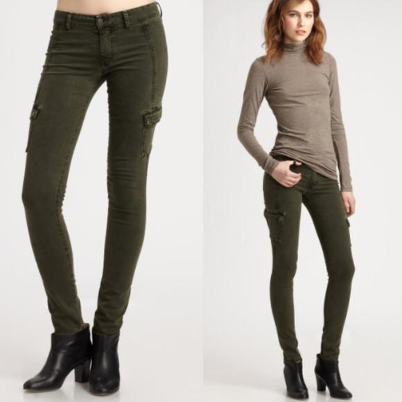 6b876d97 Vince Jeans | Skinny Cargo Pants Olive Green 0118 | Poshmark